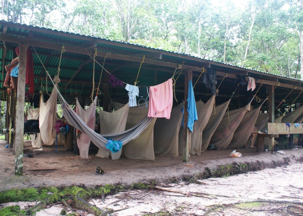 angelfalls Base camp